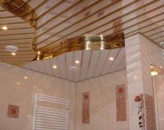 Подвесной потолок своими руками ванная комната 89