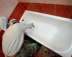 Технологія емалювання чавунних ванн своїми руками