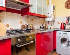 Дизайн кухні з газовою колонкою