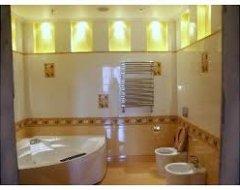 Які підійдуть світильники для ванної кімнати?