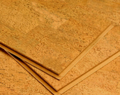 Укладання клеючого (плиткового) коркового покриття