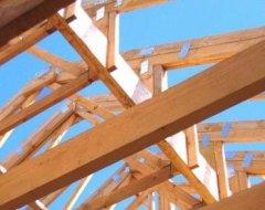 Кроквяна система мансардного даху: технологія будівництва