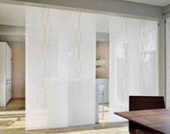 Японські штори в якості перегородки