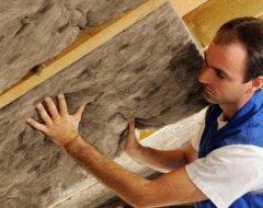 Технологія утеплення даху мінватою: способи утеплення