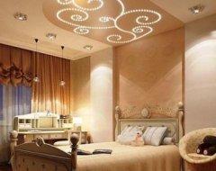 Стеля в спальні