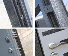 Сталеві двері з терморозривом
