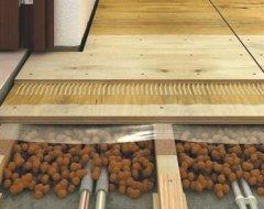 Монтаж дерев'яних лаг