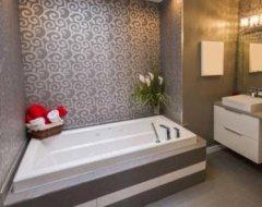 Шпалери для ванної кімнати: особливості вибору - рідкі, миючі, фотошпалери