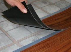 Вінілова підлога види і характеристика