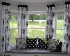 Штори на еркерні вікна: особливості