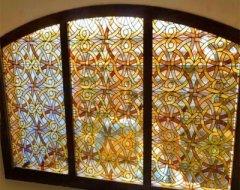 Вітражні вікна: інструкція по виготовленню