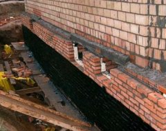 Гідроізоляція підвалу зсередини від грунтових вод