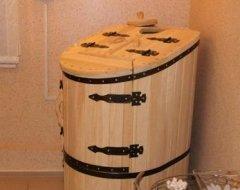 Кедрова фітобочка: інструкція по виготовленню