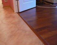 Як зробити стик плитки, ламінату та інших підлогових покриттів