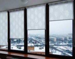 Рулонні штори на вікна. Вибір і монтаж
