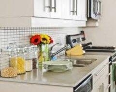 Варіанти обробки стін і підлоги кухні