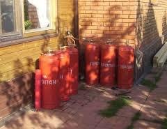 Опалення будинку скрапленим газом у балонах. Розбираємося в особливостях