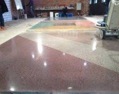 Шліфування та полірування бетонної підлоги