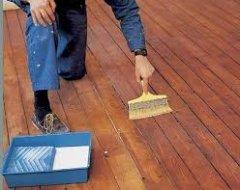 Дрібний ремонт підлоги з дощок