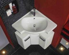 Кутові раковини у ванну: опис, особливості установки