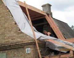 Реконструкція будинку після пожежі