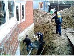 Захист стін і фундаменту будинку від вологи