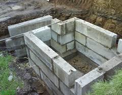 Будівництво льоху. Котлован і стіни
