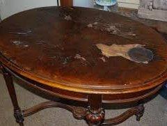 Як відреставрувати старий журнальний стіл з дерева