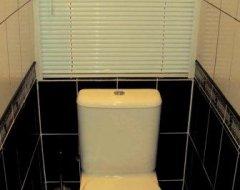 Жалюзі в туалеті