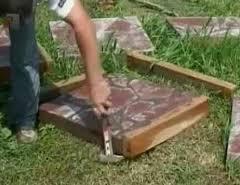 Плитка для садової доріжки своїми руками