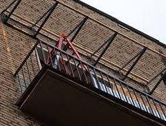Як зробити дах на балконі на останньому поверсі
