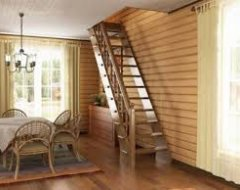 Вибір матеріалу для внутрішньої сходи в будинку