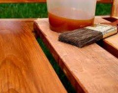 Захист дерев'яної поверхні: олія для деревини