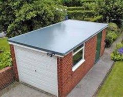 Покрівля плоского даху: посипання і в'яжучі
