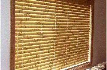 Родзинка в інтер'єрі: бамбукові жалюзі