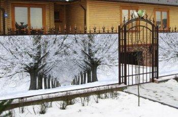 Фотосітка для парканів