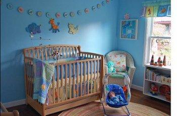 Облаштовуємо кімнату для новонародженого