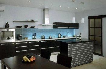 Кухня без верхніх шаф: як і навіщо