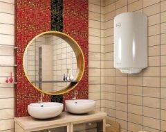 Принципи вибору та встановлення бойлера в малогабаритній ванній кімнаті