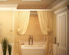 Інтер'єр ванної кімнати: як підібрати текстиль