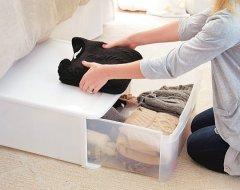 Де зберігати речі в невеликій квартирі?
