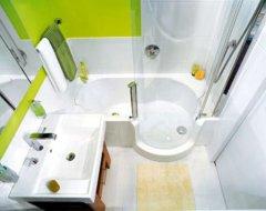 Як візуально збільшити маленьку ванну кімнат