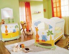 Як облаштувати кімнату для новонародженого