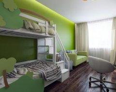 Мінімалізм і ліс: інтер'єр квартири площею 77 кв.<span id=