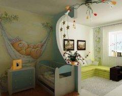 Як організувати простір маленької дитячої кімнати