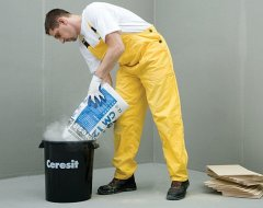 Вибираємо клей для плитки.<span id=