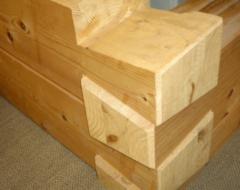 Способи з'єднання дерев'янних брусів між собою