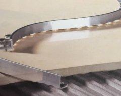 Гибкий Г-образный алюминиевый профиль