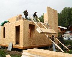 Преимущества строений из сип-панелей